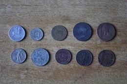 Lot De 10 Monnaies XIX Et XX A Identifier Non Triées Lot 1 - Coins