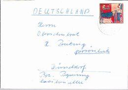 Spanien Spain Espagne - Weihnachten (MiNr: 1957) 1971  - Brief/cover/letter - 1931-Aujourd'hui: II. République - ....Juan Carlos I