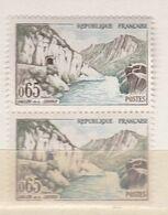 1 Paire  :   Timbres   France  N° 1239 ** Bord De Feuille 1960  ( Plusieurs Blocs  & Timbres Dans Mes Annonces ) - Ongebruikt