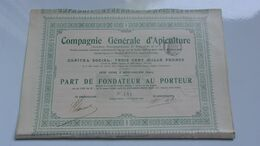 GENERALE D'APICULTURE (neuvy Pailloux,INDRE)1904 - Ohne Zuordnung