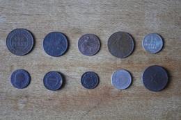 Lot De 10 Monnaies XIX Et XX A Identifier Non Triées Lot 2 - Coins