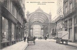 BRUXELLES, Halles Centrales (pôle Nord), TOP CARTE - Plazas