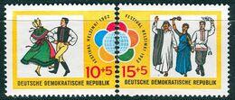 DDR - Mi 905 / 906 Einzeln - ** Postfrisch (D) - 10+5-15+5Pf           Weltfestspiele Der Jugend Und Studenten - Nuovi
