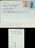 A966 Irak Luftpost Brief  In Die USA Zensur ! Bedarfserhaltung ! - Irak