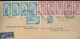 A1084 Neu Seeland Luftpost Brief 6 USA 1948 . Die Marken Sind Nicht Abgeschnitten , Scanfehler ! - Brieven En Documenten