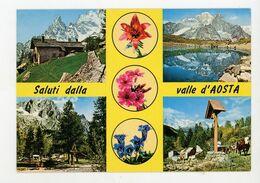 CPM - I - VALLÉE D'AOSTE - MULTIVUE - - Aosta