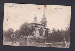 Pologne Janow Kirche ( Der Krieg Im Osten  Feldpost König. Preuss. Magazin Fuhrpark Kolonne N° 373 Ref43281) - Poland