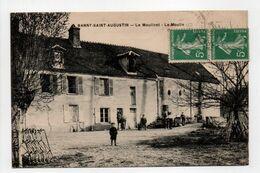 - CPA BARNY-SAINT-AUGUSTIN (77) - Le Moulinet - Le Moulin - Edition Hucher Julien - - Otros Municipios