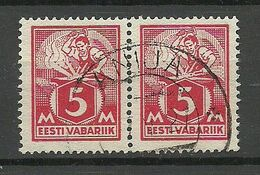ESTLAND ESTONIA 1923 O ANIJA Michel 37 A - Estland
