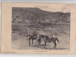 Colonne ZAER-ZEMMOUR (Maroc) - Passage De L'Oued Grou Schmitt Rabat Cachet Campagne Militaire 1907 - Otros