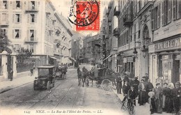 NICE - La Rue De L'Hôtel Des Postes - Très Bon état - Nizza