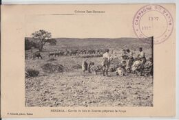 Colonne ZAER-ZEMMOUR (Maroc) - MERZAGA - Corvée De Bois Et Zouaves Préparant La Soupe Cachet Campagne Militaire Schmitt - Otros