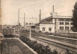 (C).Seprio Mozzate(CO).Linea Ferroviaria.F.to Grande.Viaggiata - Como