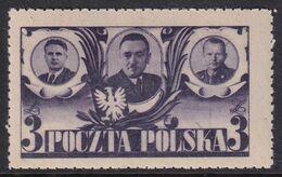 POLAND 1946 Manifesto Fi 407 B1 Mint Never Hinged - Ungebraucht