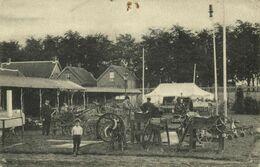 Nederland, WAALWIJK, Prov. Landbouwtentoonstelling, Landbouwwerktuigen (1910) Ansichtkaart - Waalwijk