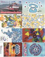 8 Télécartes EGYPTE Lot1 - Slovaquie