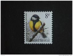 België Belgique Belgium 1992 Vogel Oiseau Buzin Koolmees Messange 2460 MNH ** - 1985-.. Oiseaux (Buzin)