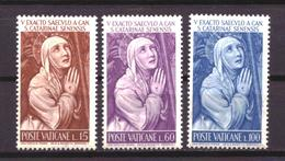 Vaticaan / Vatican 402 T/m 404 MNH ** (1962) - Nuevos