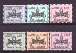 Vaticaan / Vatican Port 19 T/m 24 MNH ** (1968) - Nuevos