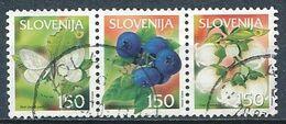 °°° SLOVENIA - Y&T N°370/72 - 2002 °°° - Slovénie