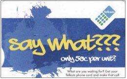 Afrique Du Sud, Chip R25 Telkom, Date Expiry: 2014/03 - Sudafrica
