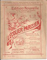 CAHIER DE DESSIN . L'ECOLIER PARISIEN . No 2 .. MONROCQ FRERES .. EDITEUR IMPRIMEURS - Animals