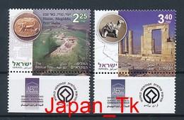 ISRAEL Mi. Nr. 1967-1968 UNESCO-Welterbe - MNH - Nuevos (con Tab)