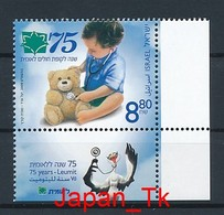 ISRAEL Mi. Nr. 2070 75 Jahre Leumit-Gesundheitsfonds - MNH - Nuevos (con Tab)