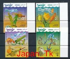 ISRAEL Mi. Nr. 2089-2092 Meeresarchäologie - MNH - Nuevos (con Tab)