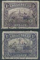 YY-/-1001.- N° 145/45a, Cote 3.00 € , TB - IMAGE DU VERSO SUR DEMANDE - 1915-1920 Albert I
