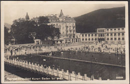 Baden Bei Wien, Thermal Strandbad, Gelaufen 1928 - Baden Bei Wien