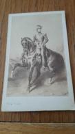 Photo CDV FRANK PHOTO Identification Au Dos 1850 - Antiche (ante 1900)