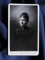 Photo CDV Bellingard à Lyon - Beau Portrait Femme, Circa 1890 L498U - Photos