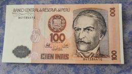 Perou Perù Peru Cien 100 Intis 1987 Ramon Castilla TBE VERY GOOD B 4158441G - Peru