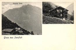 Isenfluh, Schynige Platte, Haus, Um 1900/05 - BE Berne