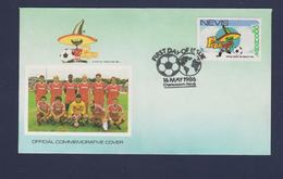 Nevis FDC 1986 FIFA World Cup In Football Mexico (G112-59) - World Cup