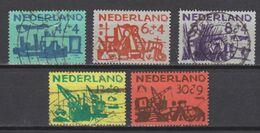 NVPH Nederland Netherlands Pays Bas Holanda 722 723 724 725 726 Used Zomerzegels Summer Stamps Timbres D'ete 1959 - 1949-1980 (Juliana)