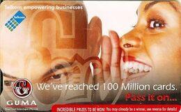 """SOUTH AFRICA Used Phonecard/ Gebruiklte Telefoonkaart """"GUMA EMPOWERING BUSINESS"""" - Sudafrica"""
