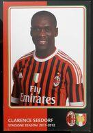 SEEDORF MILAN Football Player Carte Postale - Fussball