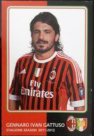 GATTUSO MILAN Football Player Carte Postale - Fussball
