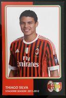 THIAGO SILVA MILAN Football Player Carte Postale - Fussball