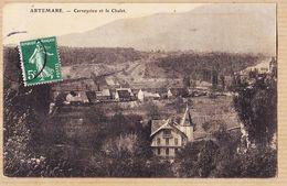 X01265 Peu Commun ARTEMARE 01-Ain CERVEYRIEU Et Le Chalet 1910s - Francia