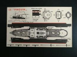 SUPPLEMENT A MARABOUT JUNIOR N°15  MAQUETTE MODELE REDUIT BATEAU LE PINGUIN - Schiffe