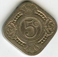 Pays-Bas Netherland 5 Cents 1913 KM 153 - 5 Cent