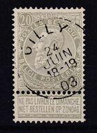 N° 59 GILLY - 1893-1900 Thin Beard