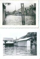 Photo Originale La Réunion Inondation Lot De 5 Photos - Places
