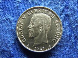 SWEDEN 1 KRONA 1927, KM786.2 XF - Sweden