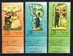ISRAELE - 2000 - Jewish New Year Cards - MNH - Nuevos (con Tab)