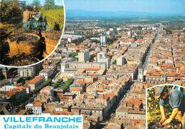 69 - Villefranche Sur Saône - Vue Aérienne - Vendanges - Multivues - Villefranche-sur-Saone
