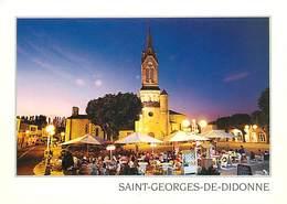 17 - Saint Georges De Didonne - L'Eglise - Soirée En Terrasse - CPM - Voir Scans Recto-Verso - Saint-Georges-de-Didonne